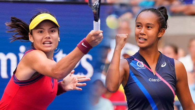 Thử thách cuối cùng của Fernandez tại Mỹ Mở rộng là đồng nghiệp cùng lứa Emma Raducanu. Ảnh: US Open
