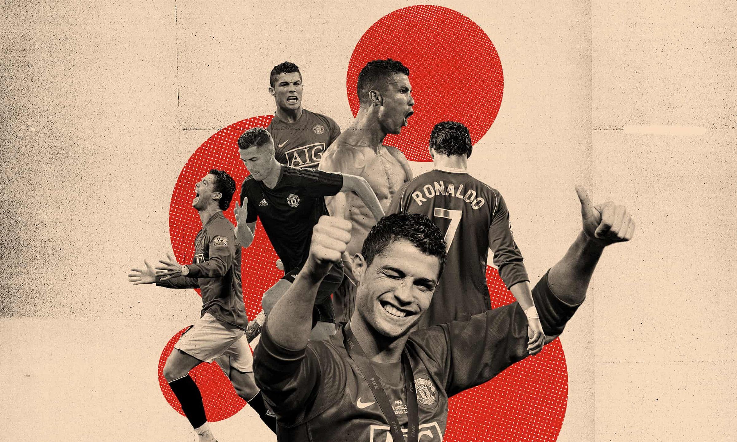 Ronaldo, với sự nghiệp lẫy lừng, sẽ là nguồn cảm hứng lớn để nâng cấp Man Utd mùa này. Ảnh: Guardian
