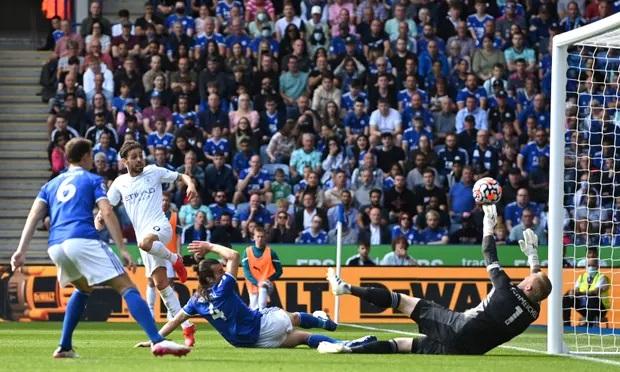 Silva ghi bàn duy nhất, giúp Man City giành ba điểm. Ảnh: Man City FC.