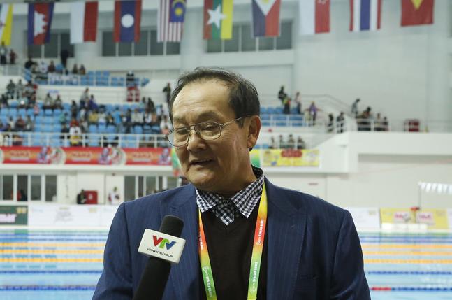 Ông Hoàng Vĩnh Giang được coi là cây đại thụ của thể thao Việt Nam.