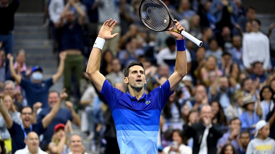Djokovic chỉ còn cách Calendar Grand Slam một trận thắng. Ảnh: USTA