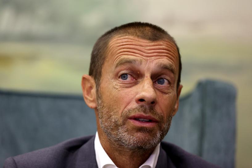 Ceferin tẩy chay các CLB đòi lập giải đấu riêng. Ảnh: Reuters.