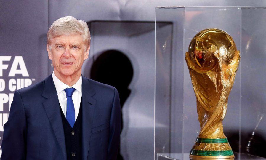 Wenger là nhân vật quan trọng của FIFA trong mục tiêu mở rộng quy mô World Cup. Ảnh: AFP