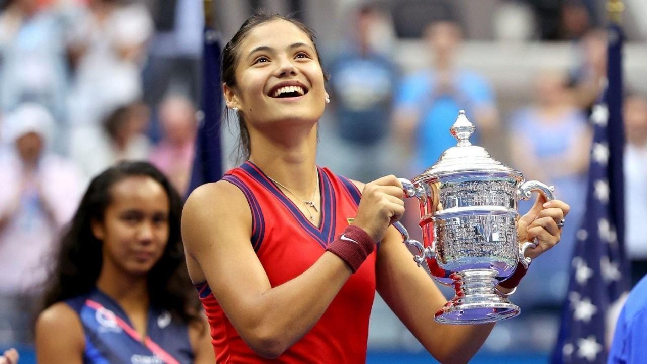 Raducanu là tay vợt đầu tiên chơi vòng loại mà vô địch Mỹ Mở rộng. Ảnh: US Open