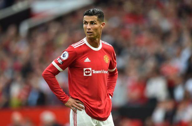 Ronaldo chơi trọn vẹn trận ra mắt và ghi hai bàn cho Man Utd. Ảnh: EPA.