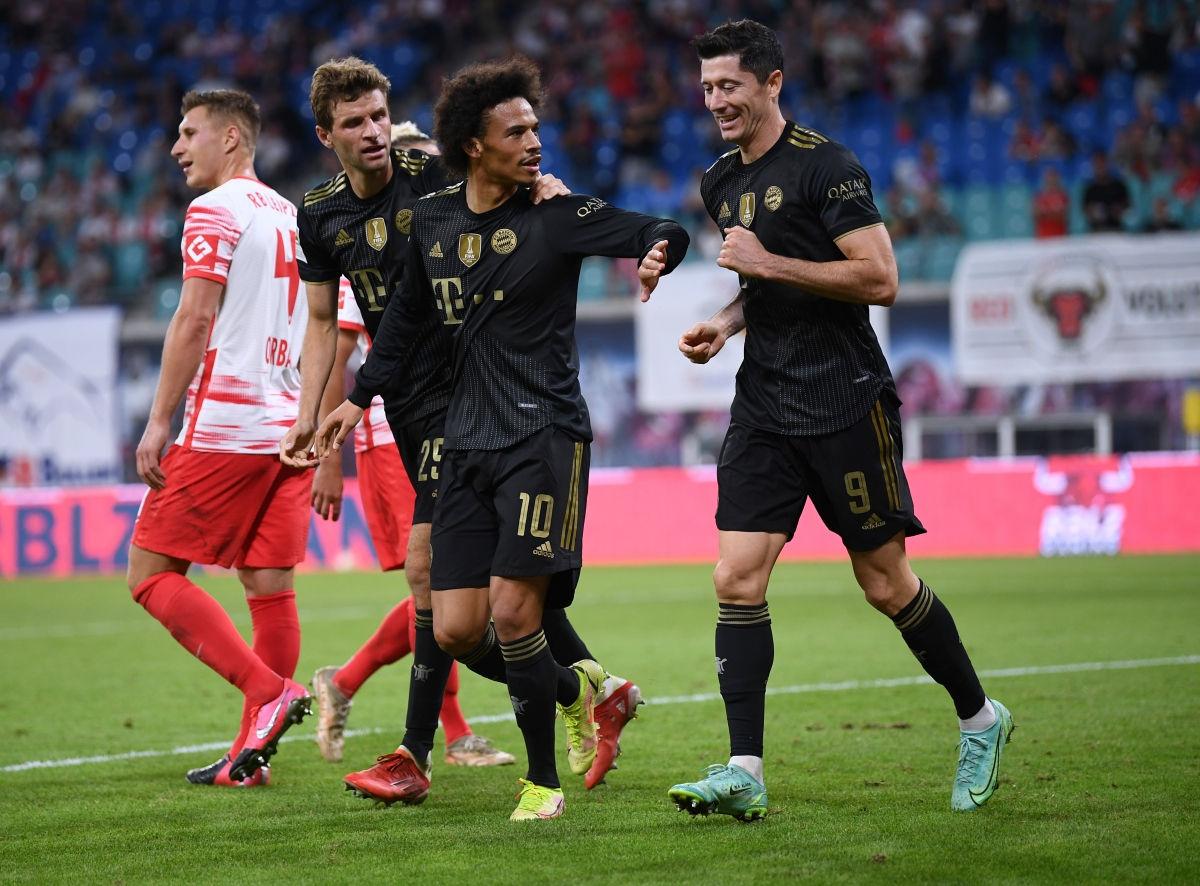 Bayern quá mạnh so với RB Leipzig. Ảnh: Reuters.