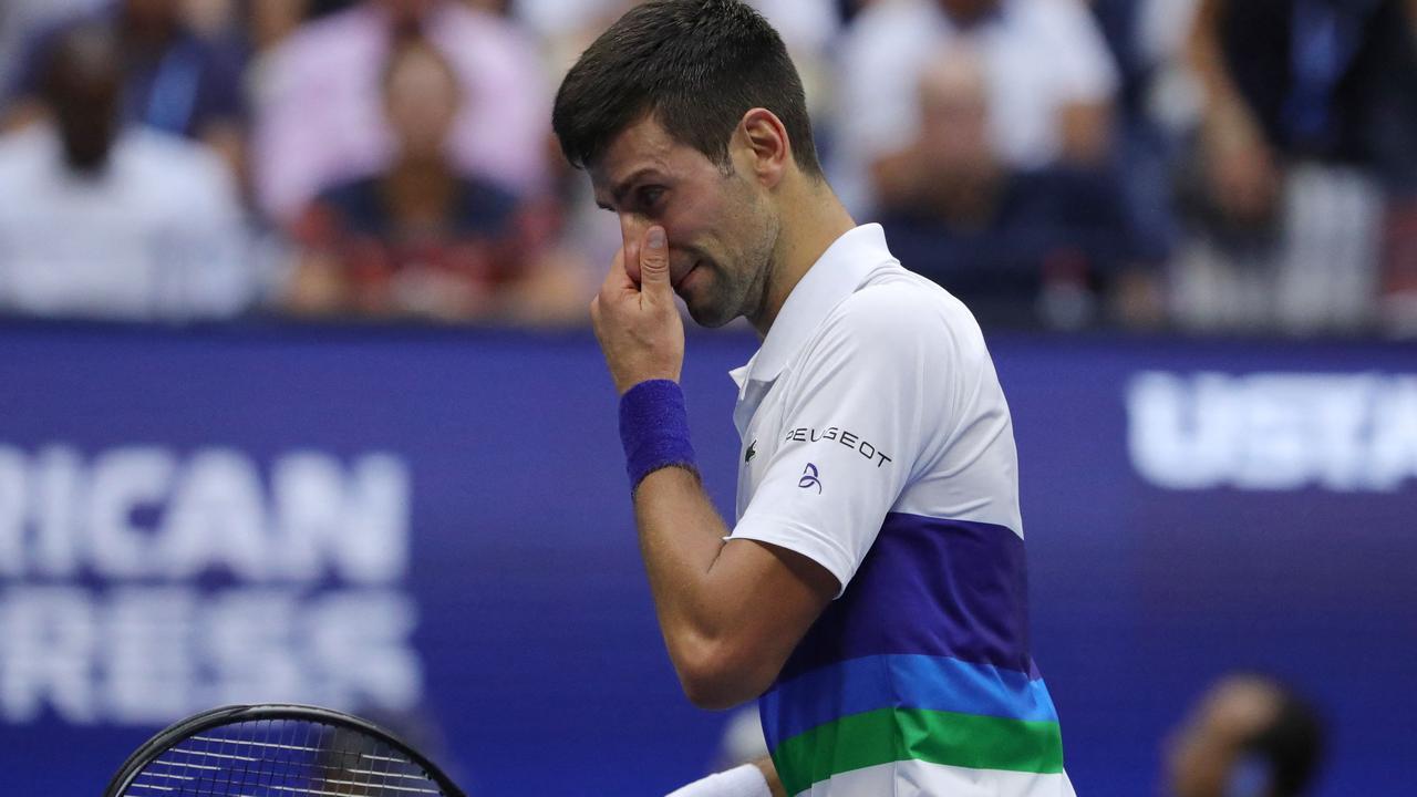 Djokovic lỡ cơ hội độc chiếm kỷ lục 21 Grand Slam. Ảnh: US Open