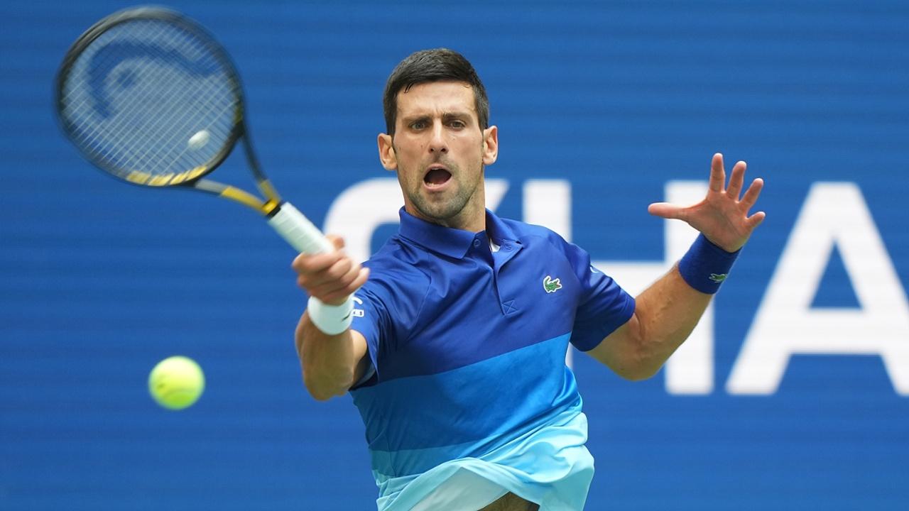Djokovic mắc tới 38 lỗi tự đánh hỏng cả trận. Ảnh: USTA