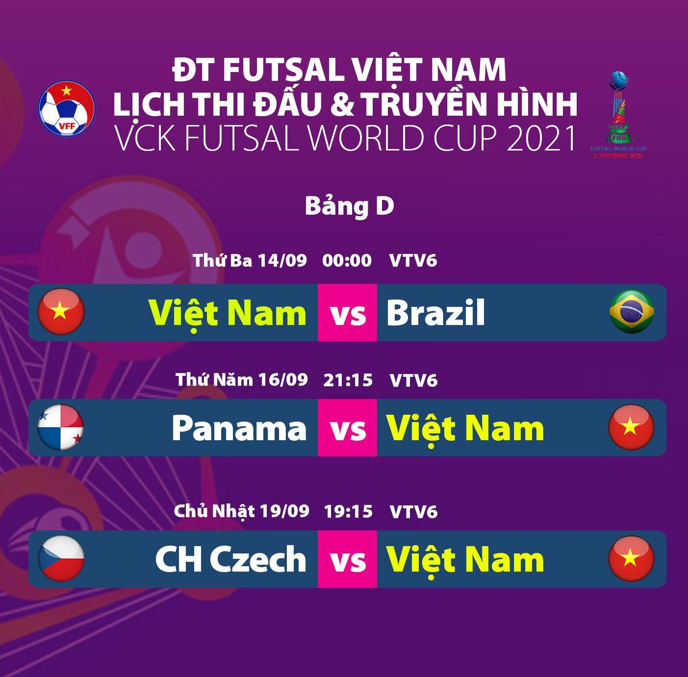 Việt Nam chuẩn bị ra quân ở futsal World Cup - 3