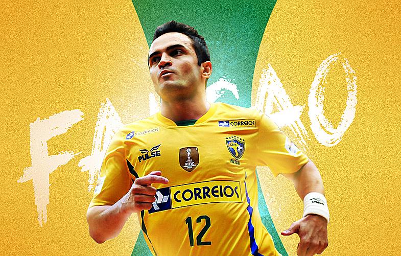 Falcao được xem như Vua trong môn futsal.