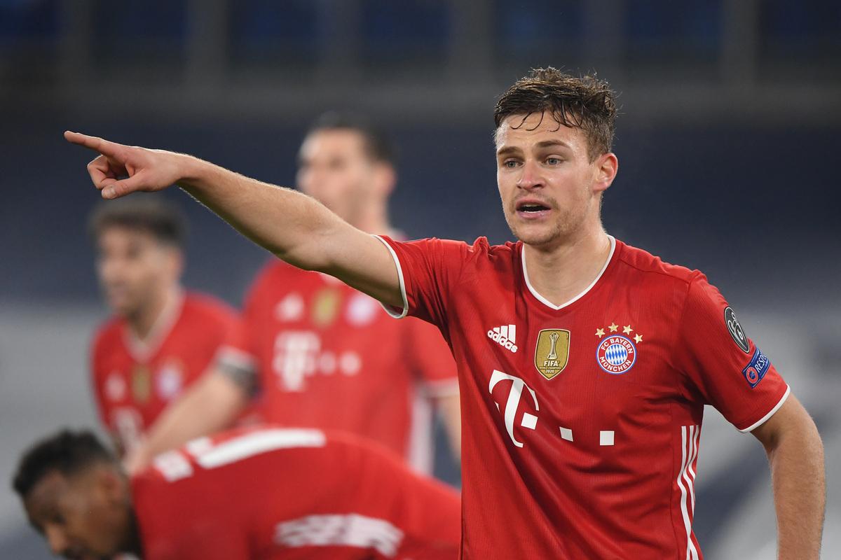 Kimmich mới 26 tuổi, nhưng đã là trụ cột của Bayern từ sáu năm qua, với 265 trận trên mọi đấu trường. Ảnh: Reuters