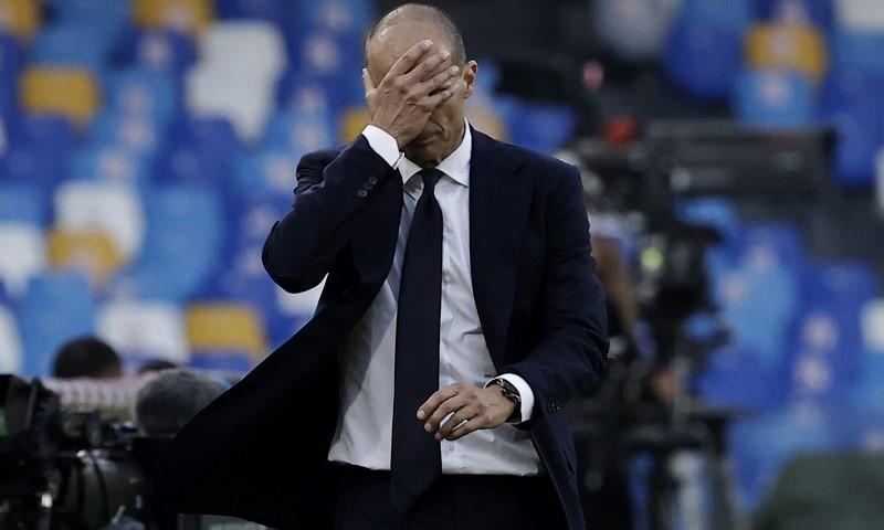 Sức ép lớn dành cho Allegri sau khi Juventus chia tay Cristiano Ronaldo. Ảnh: Reuters.