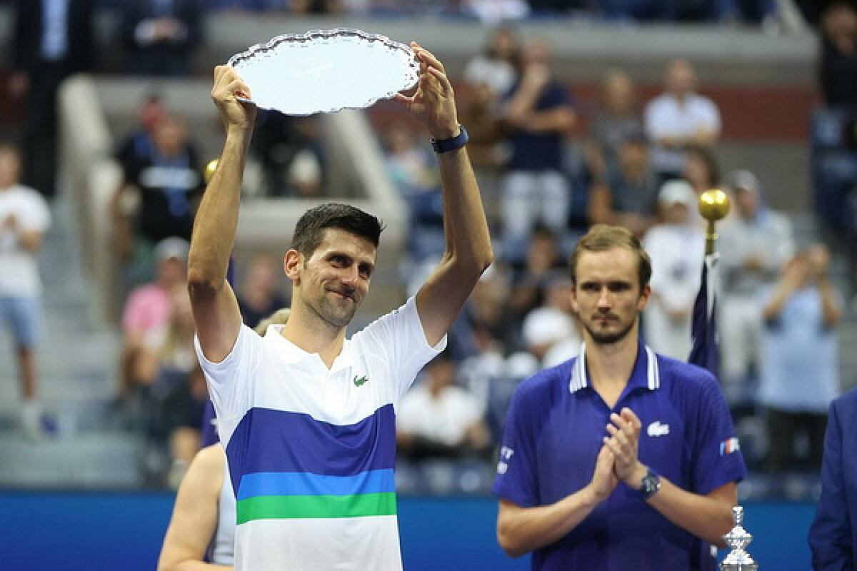 Djokovic thua 11 trong 31 trận chung kết Grand Slam. Ảnh: Reuters