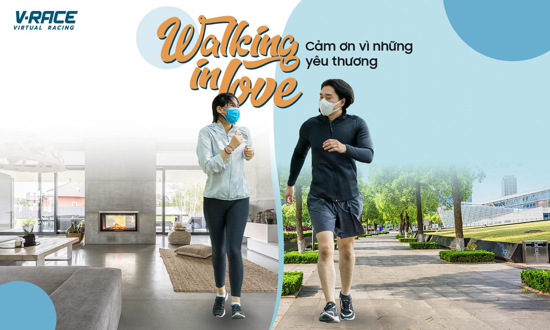 Giải ảo V-Race Walking in love được hưởng ứng mạnh mẽ