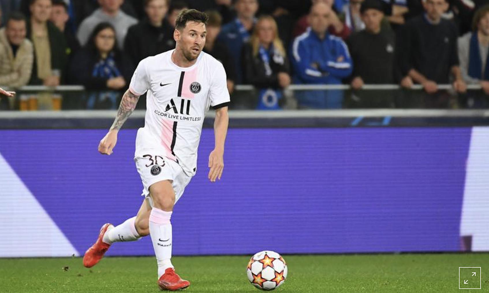 Messi như thường lệ, không di chuyển nhiều trong trận như các đồng đội. Ảnh: Reuters