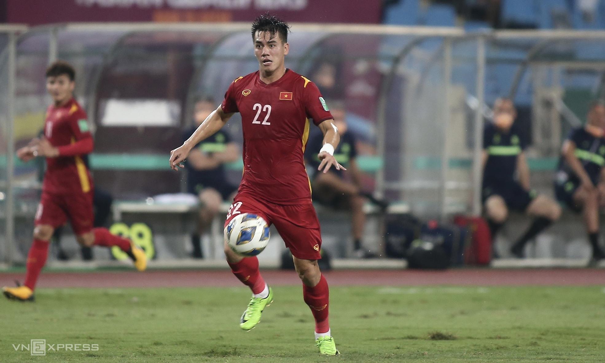 Việt Nam lần đầu tụt bậc FIFA kể từ tháng 9/2019. Ảnh: Lâm Thoả