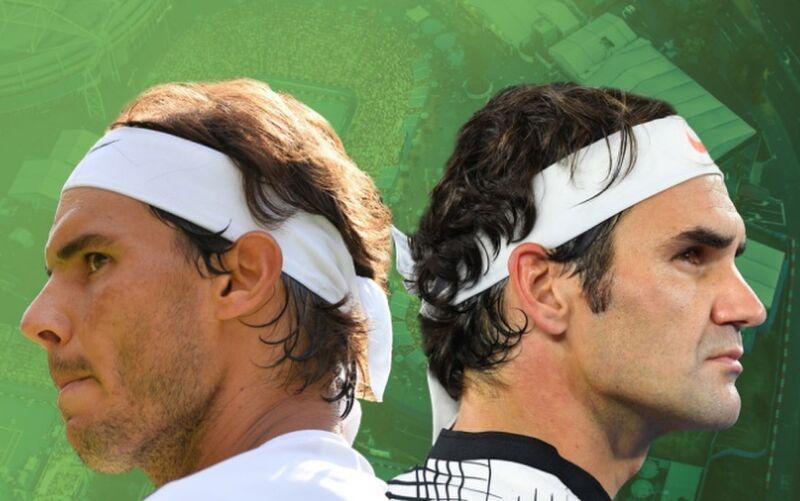 Nadal và Federer chỉ chơi tổng cộng 42 trận mùa này, trước khi nghỉ hết năm vì chấn thương. Ảnh: ATP