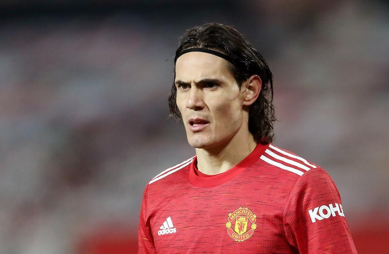 Cavani ghi 17 bàn cho Man Utd mùa trước. Ảnh: Reuters.