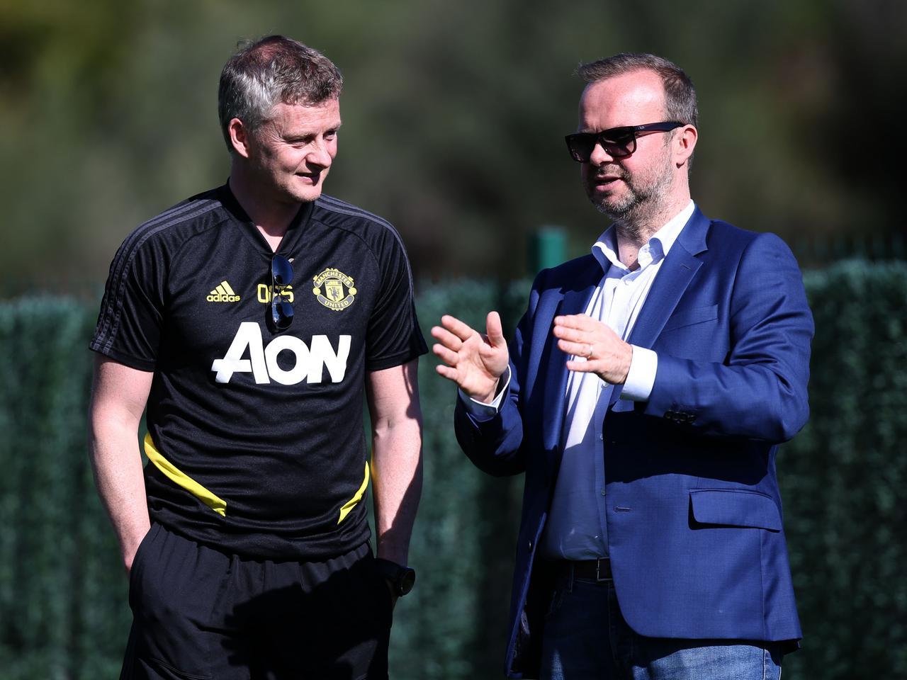 Ed Woodward từng có tiếng nói quyết định trong việc chọn Solskjaer làm HLV Man Utd cuối năm 2018. Ảnh: manutd.com