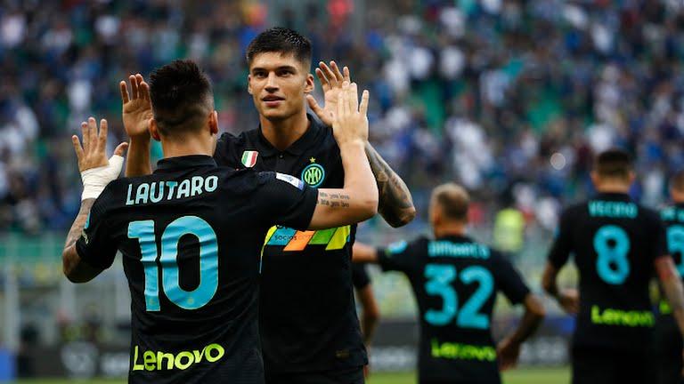 Sau trận đấu hôm qua, Inter đã ghi tổng cộng 15 bàn bàn qua bốn trận, trong khi đối thủ gần nhất là Roma mới được 9 bàn. Ảnh: Reuters.
