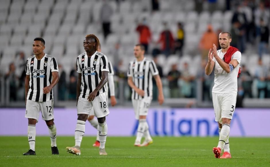 Juventus khởi đầu tệ nhất trong nửa thế kỷ, khi không thắng trận nào sau bốn vòng Serie A. Ảnh: Sky