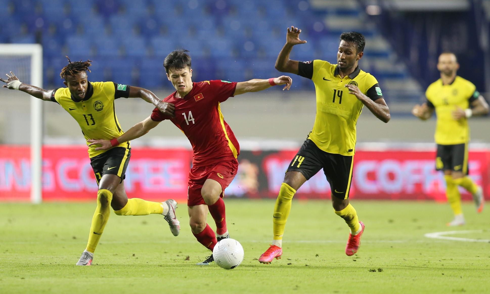Việt Nam thắng năm, hòa một trong sáu lần gần nhất chạm trán Malaysia kể từ năm 2018. Ảnh: Lâm Thỏa.
