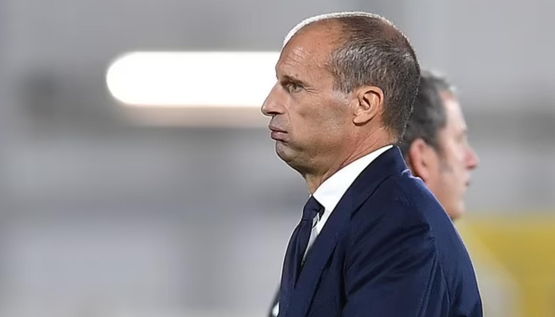 HLV Max Allegri đã dễ thở hơn một chút, sau khi giành chiến thắng đầu tiên ở Serie A mùa này. Ảnh: Reuters