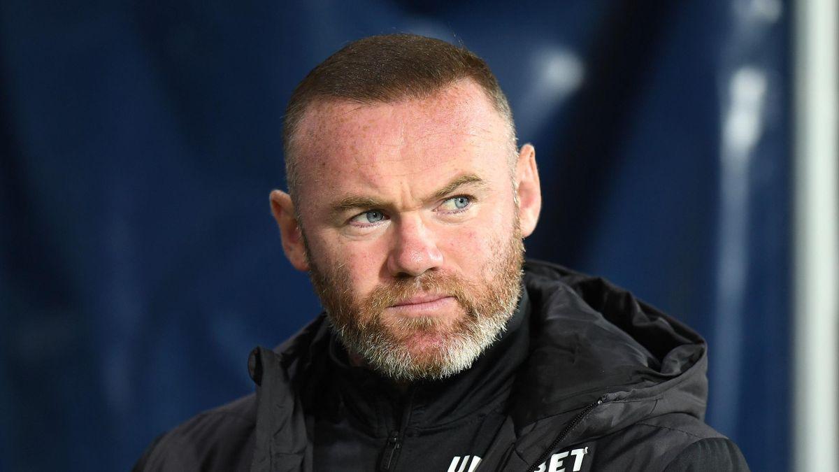 Rooney làm HLV Derby County từ tháng 11/2020, thay thế Phillip Cocu. Ảnh: Sky