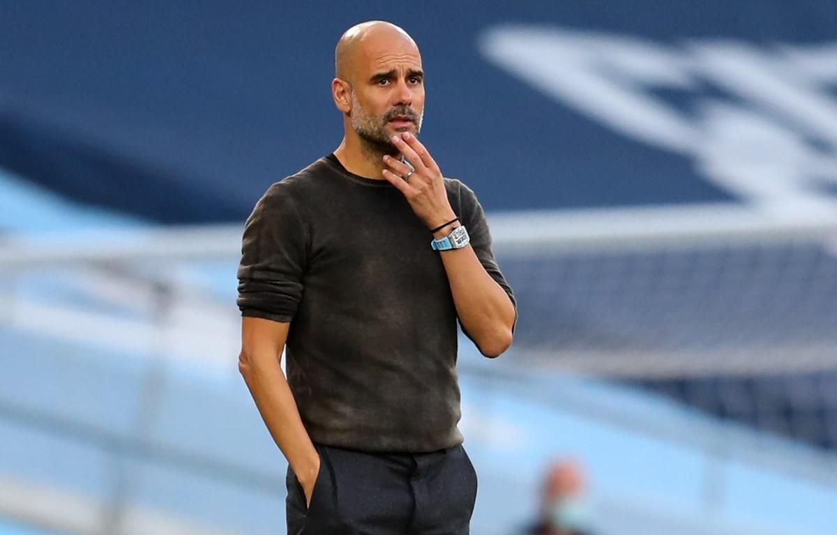 Chín học trò của Guardiola đã lập công ở Ngoại hạng Anh mùa này. Ảnh: Sky