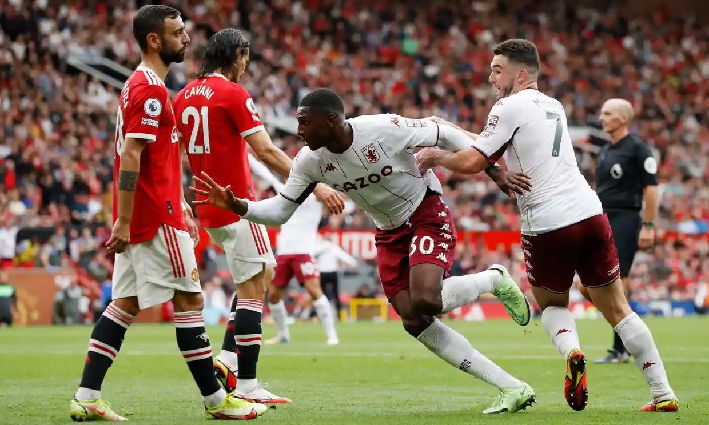 Hause ghi bàn mang về chiến thắng cho Villa ở cuối hiệp hai. Ảnh: Reuters.