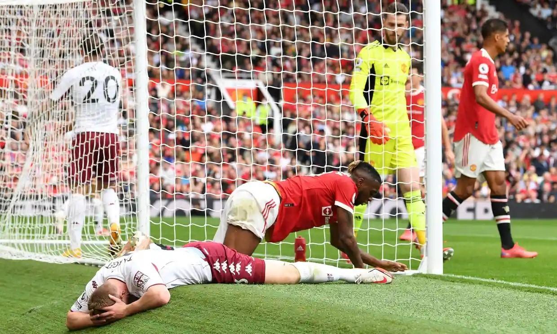 Thất bại khiến Man Utd lỡ cơ hội chiếm ngôi đầu bảng và bị tuột xuống thứ tư. Ảnh: Reuters.
