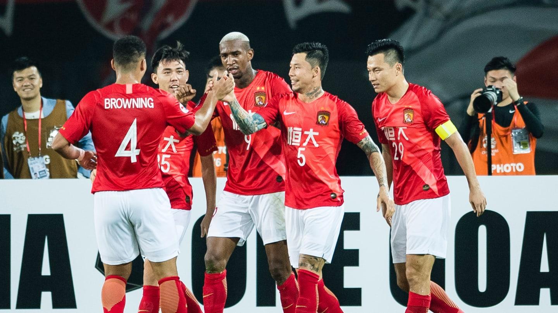 Quảng Châu Evergrande từng hai lần vô địch AFC châu Á nhờ tiềm lực tài chính hùng mạnh trong quá khứ. Ảnh: AFC