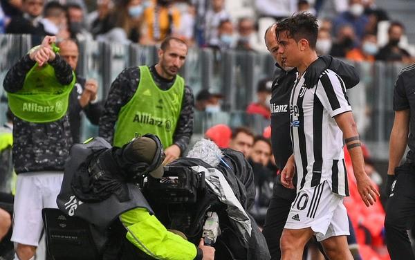 Chấn thương của Dybala là mối lo với Juventus trong lúc Allegri đang xây dựng chiến thuật quanh tiền đạo người Argentina. Ảnh: AFP.