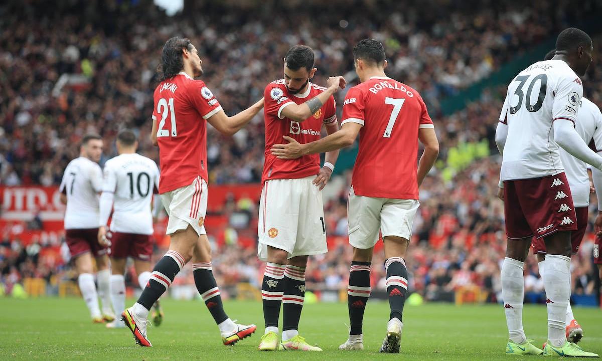 Neville cho rằng Man Utd hiện tại chỉ là tập hợp các cầu thủ giỏi. Ảnh: Offside.