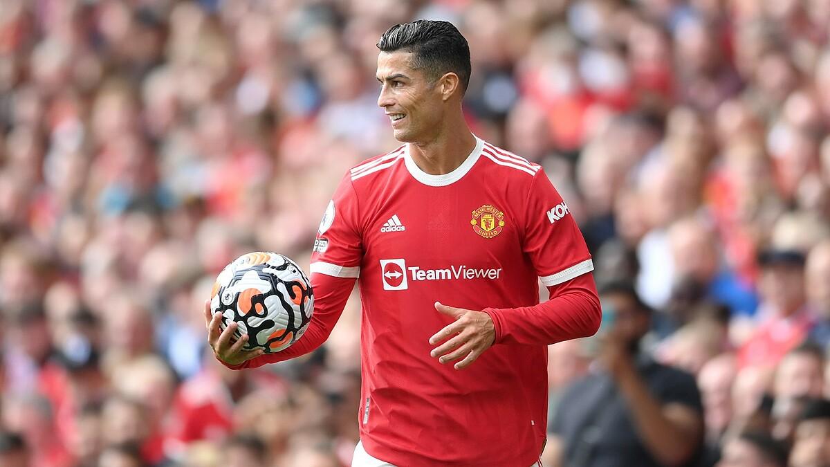Ronaldo vẫn duy trì hiệu suất 1 bàn/trận trong màu áo Man Utd. Ảnh: Sky