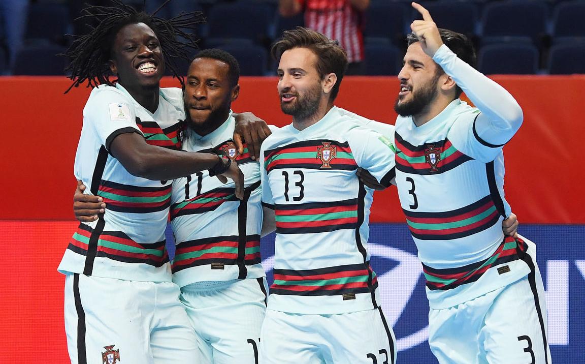Ngược dòng hạ Tây Ban Nha, Bồ Đào Nha lần đầu tiên vào bán kết futsal World Cup. Ảnh: FIFA