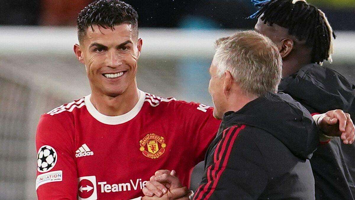 Ronaldo tỏa sáng trong ngày lập kỷ lục chơi 178 trận Champions League. Ảnh: Sky