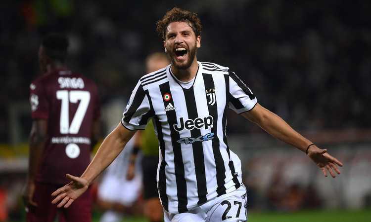Locatelli ăn mừn bàn thắng thứ hai trong màu áo của Juventus. Ảnh: AFP