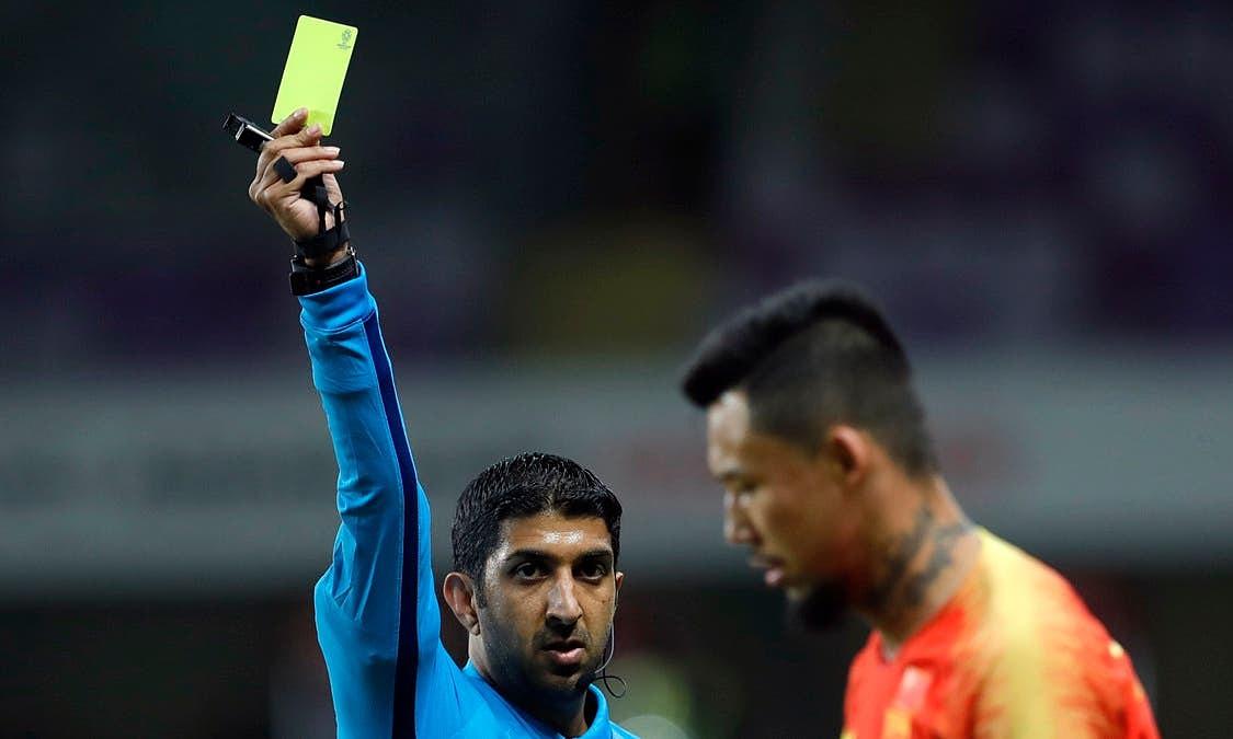 Ông Abdulla, 42 tuổi, là trọng tài FIFA từ năm 2010. Ảnh: Reuters