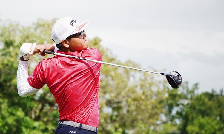 Nguyễn Bảo Long từng dự SEA Games 30 và dự kiến sẽ tiếp tục có tên trong đội tuyển golf Việt Nam tranh tài ở đại hội sang năm trên sân nhà.
