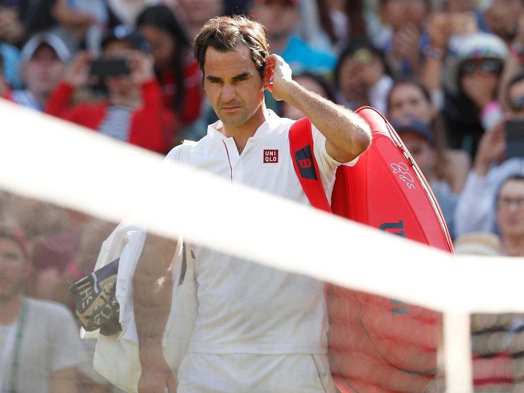 Federer chưa vô địch giải nào kể từ Basel Open 2019. Ảnh: ATP