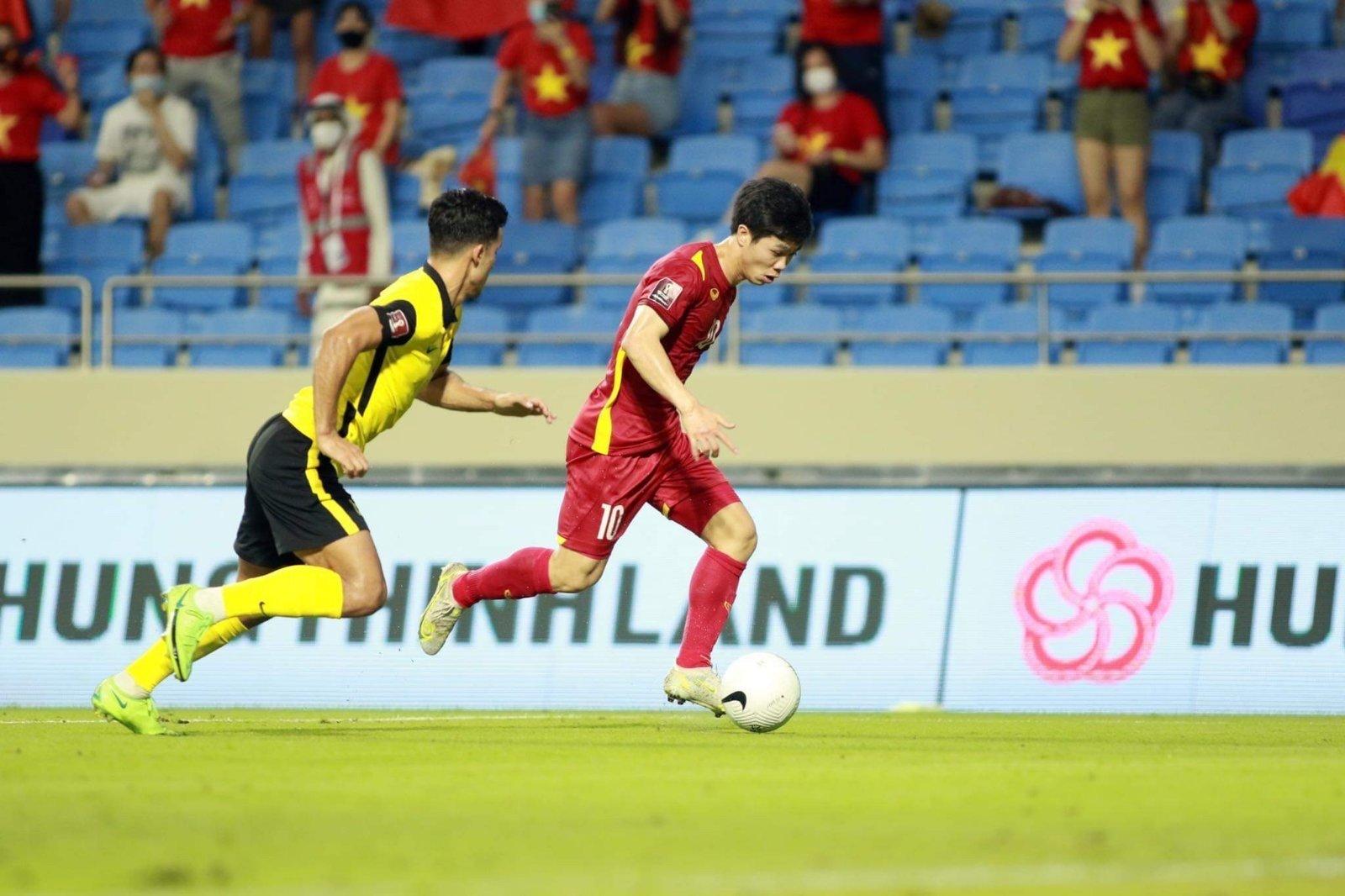 Thỏa thuận tài trợ toàn cầu sẽ bắt đầu từ trận đấu giữa Việt Nam và Trung Quốc ngày 8/10.