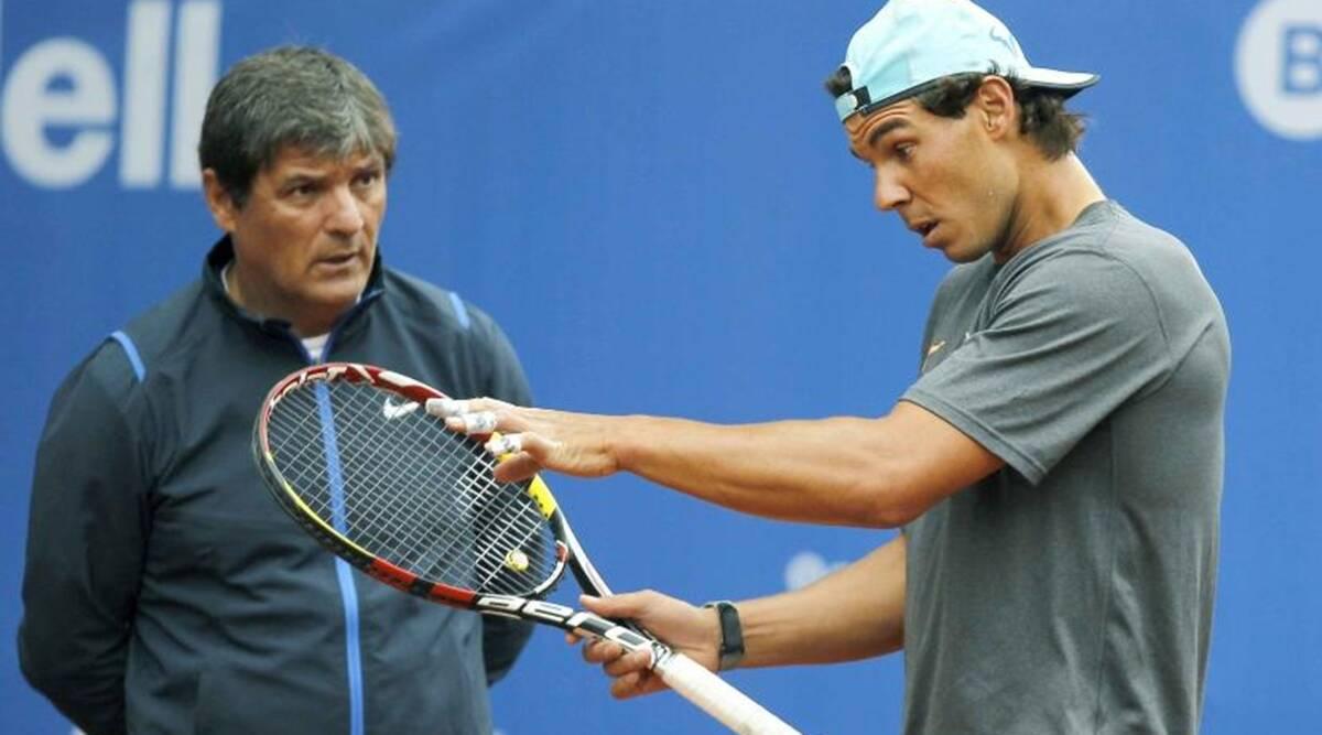 HLV Toni chia tay Nadal cuối mùa 2017 sau khi cùng nhau đoạt 16 Grand Slam. Toni đang huấn luyện tài năng trẻ Felix Auger-Aliassime, còn Nadal được Carlos Moya chỉ đạo. Ảnh: Marca