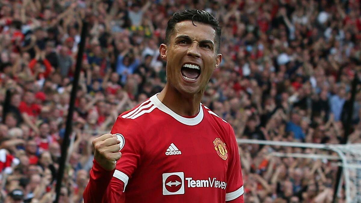 Ronaldo ghi năm bàn sau sáu trận cho Man Utd trên mọi đấu trường. Ảnh: Sky