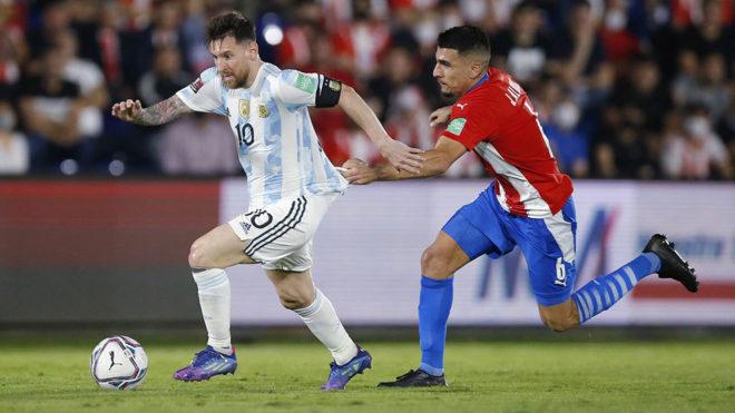 Paraguay đeo bám quyết liệt đối với các ngôi sao Argentina.