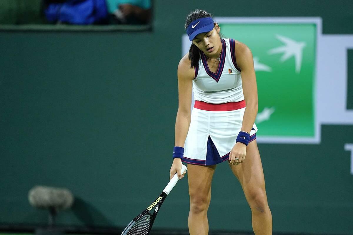 BNP Paribas Open là giải thứ sáu Raducanu góp mặt trong năm 2021. Ảnh: WTA