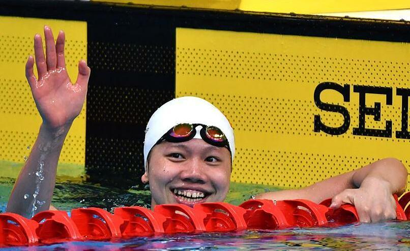Giới chuyên môn thừa nhận Ánh Viên là ngôi sao đa tài châu Á, khi thi đấu ở rất nhiều cự ly lẫn thể loại bơi, từ bơi sảy, bơi ngửa, bơi ếch, bơi bướm đến hỗn hợp. Ảnh: AFP