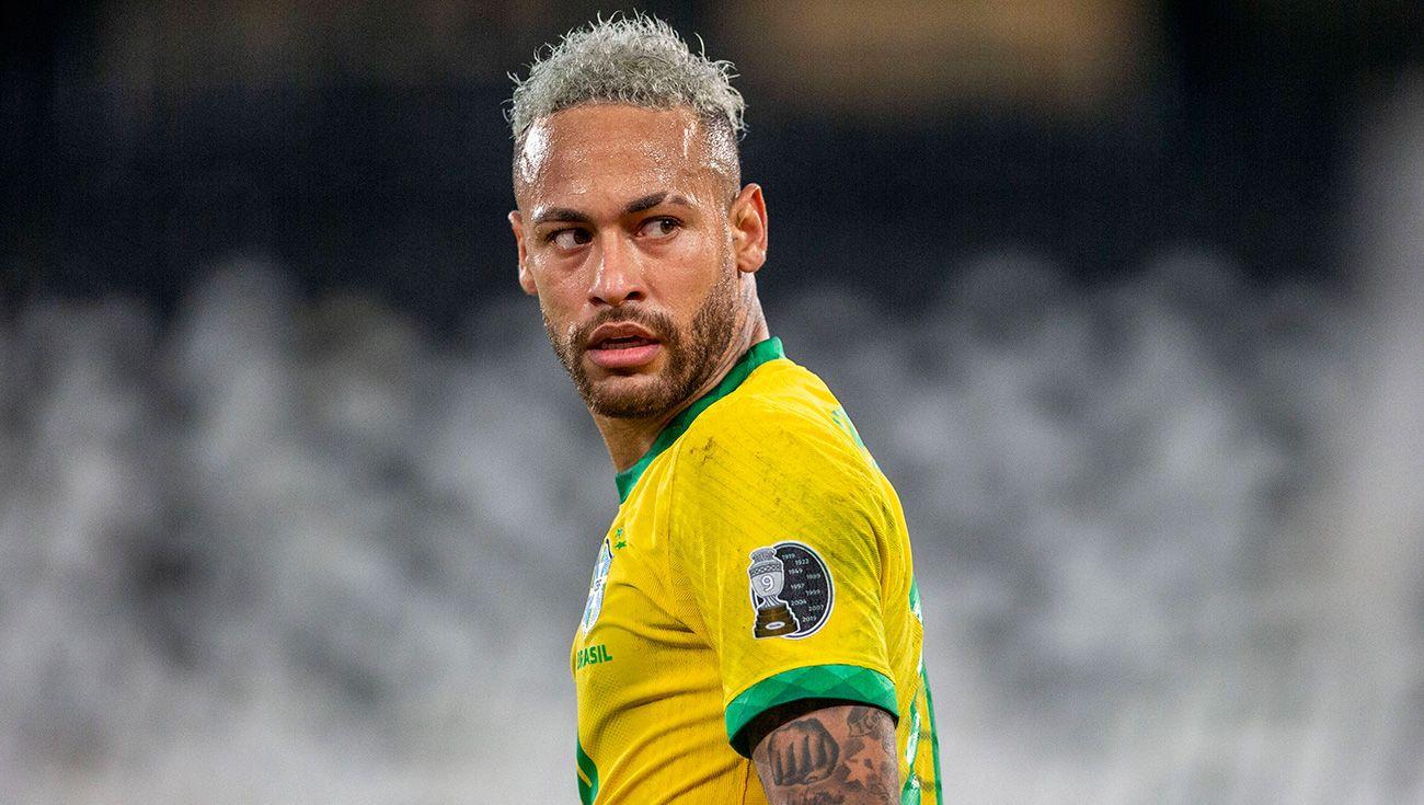 Neymar ghi 69 bàn cho Brazil, chỉ kém 77 bàn của Pele. Ảnh: Goal