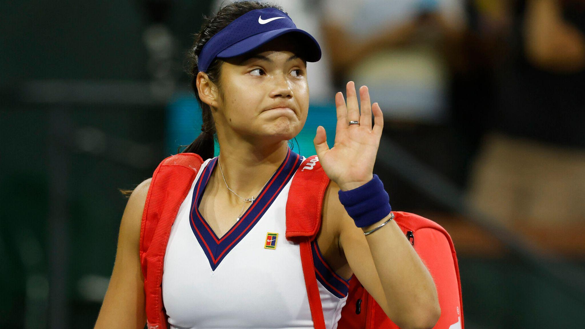 Raducanu sẽ chơi thêm ba giải sau BNP Paribas Open, trước khi nghỉ cuối năm và chuẩn bị cho mùa 2022. Ảnh: WTA