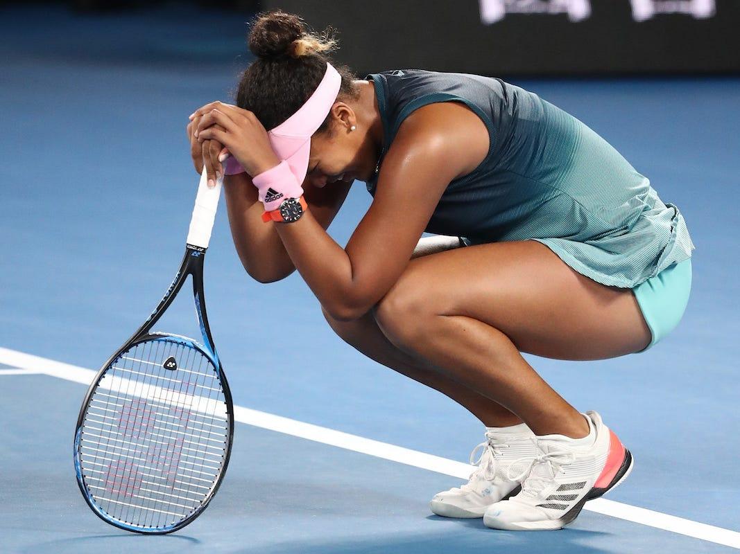 Osaka sa sút vì không giải quyết được các vấn đề tâm lý khi thi đấu. Ảnh: WTA